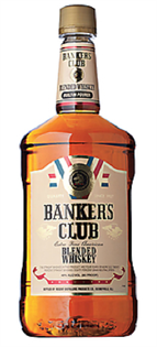 Banker's Club Blended Whiskey 1.00l - Case of 12